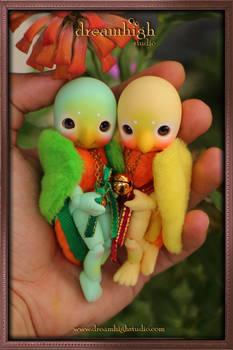 KOI  AI the lovebirds BJD