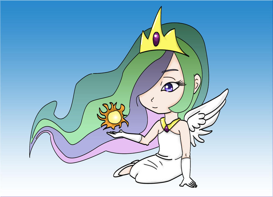 My Human Princess Celestia by DeadBunny16