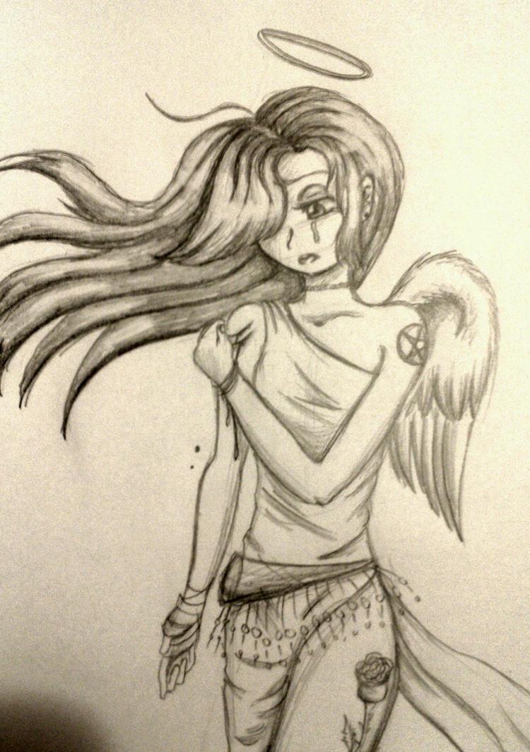 Sad Angel Tears