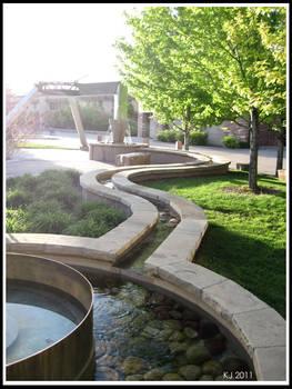 CSU Campus: The Fountain