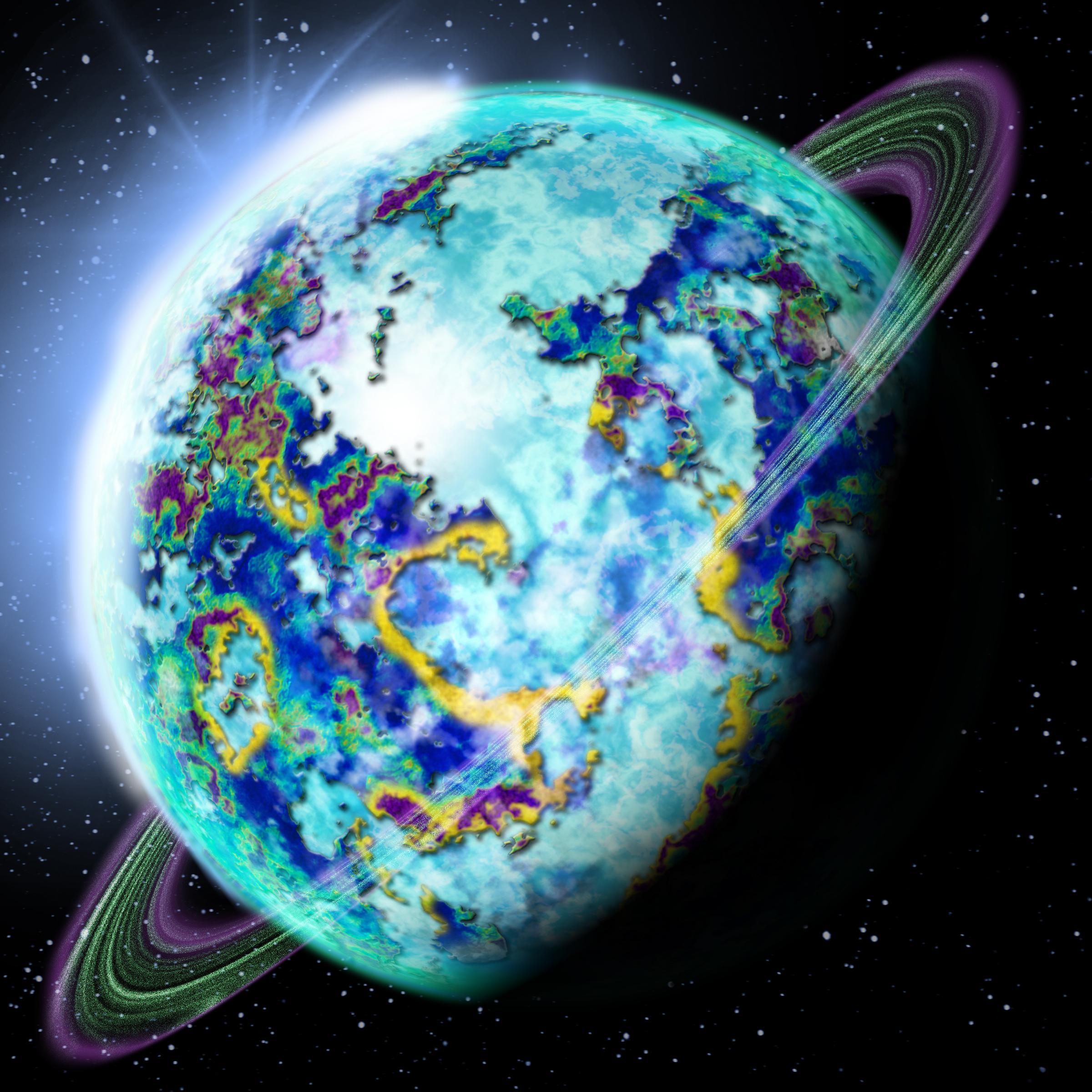 Planet Eltar by PatrickFury
