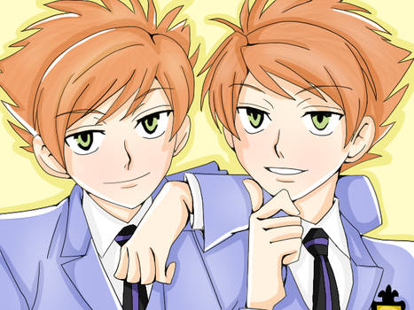 Colouring Practice-Hitachiin Twins