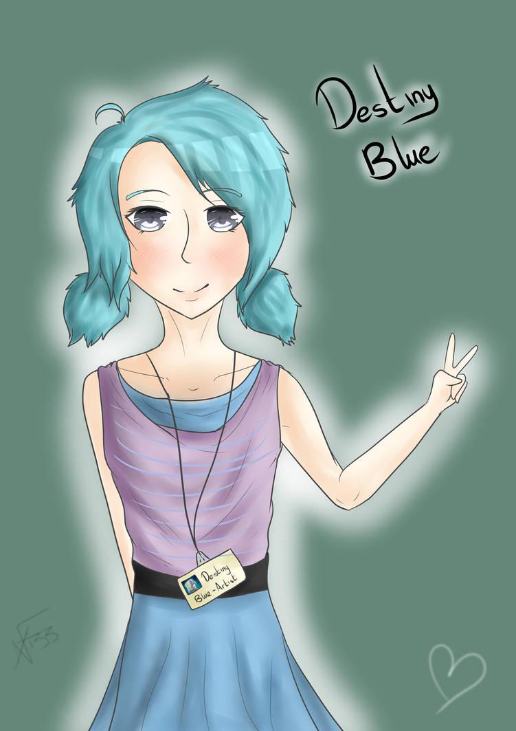 DestinyBlue by HannahBeeArt