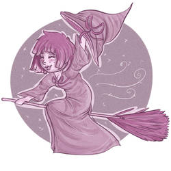 Inktober Day 30: Witch