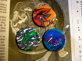 Weather Trio Buttons