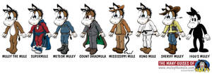 Muley's Many Styles by kevinmule