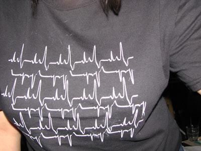 heartbeat t-shirt by nepasavaler