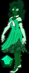 {~Steven Universe OC~} Emerald by Pepsi-Meth