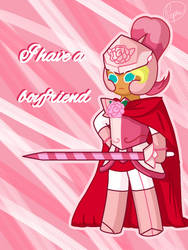 Knight Cookie Valentine's Day Card by Pepsi-Meth