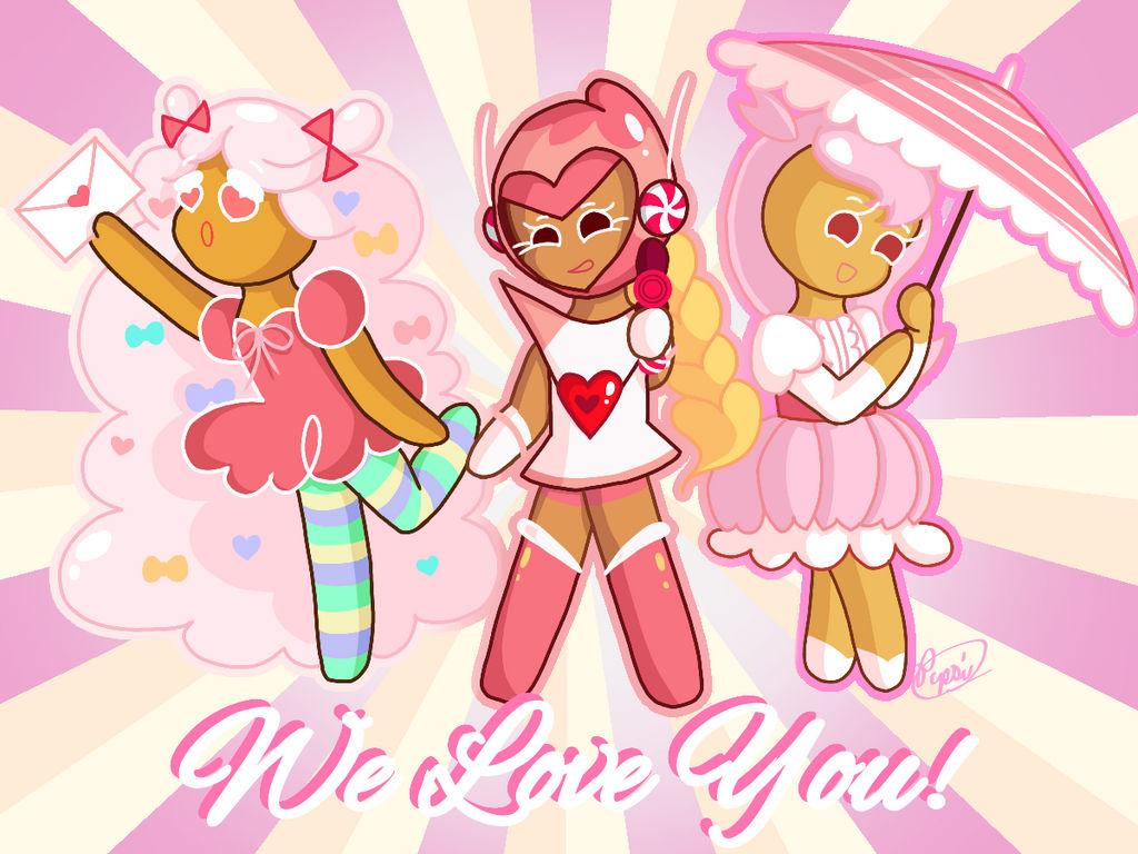 Pink Ladies Valentine's Day Card by Pepsi-Meth