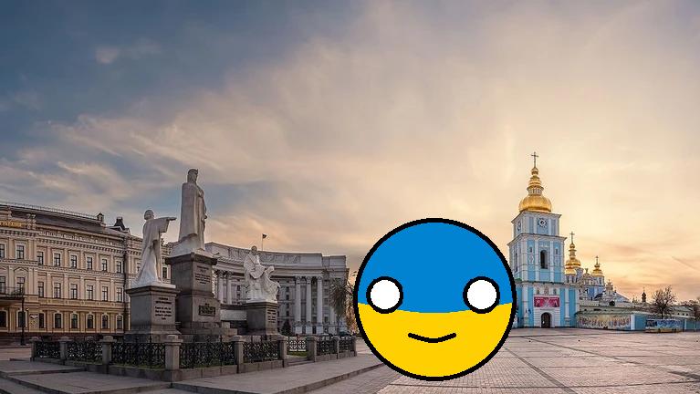 Ukraine Countryballs