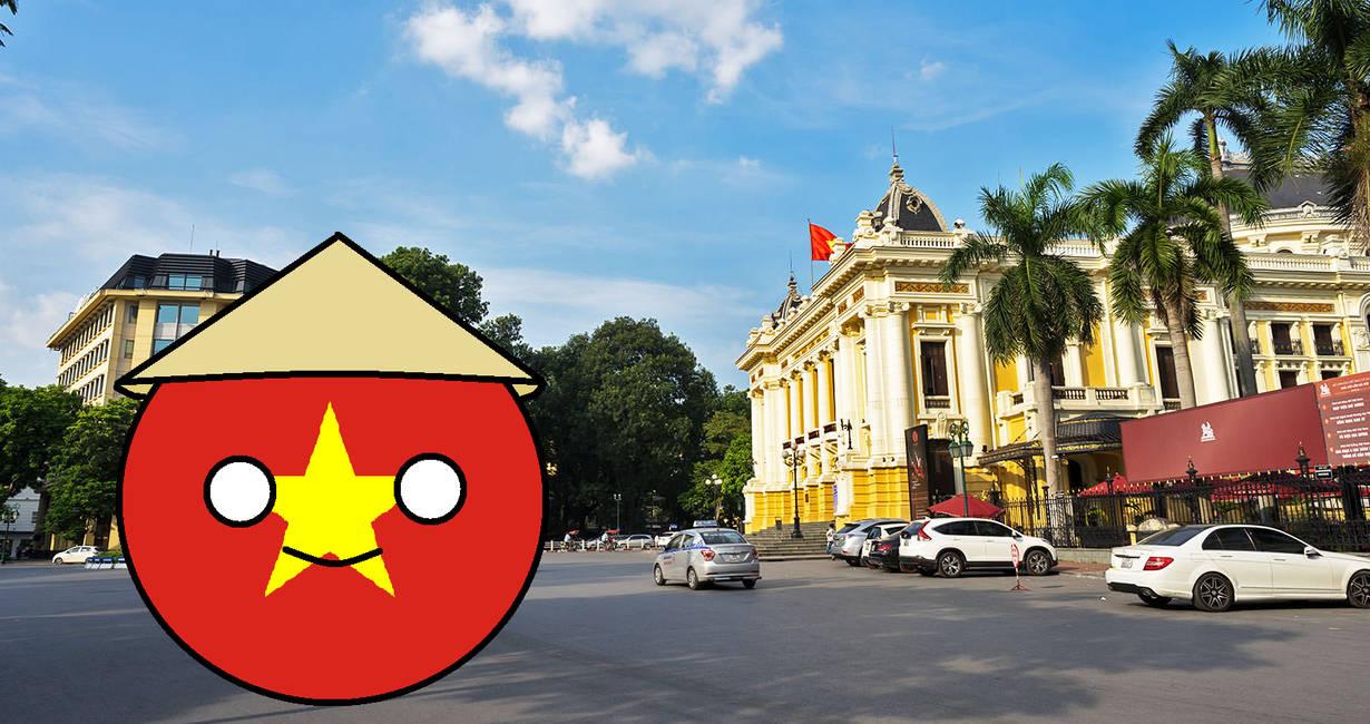 Vietnam countryball