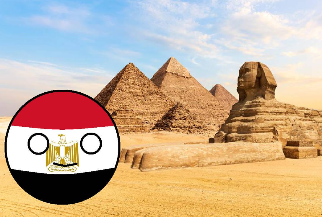 Egypt countryball