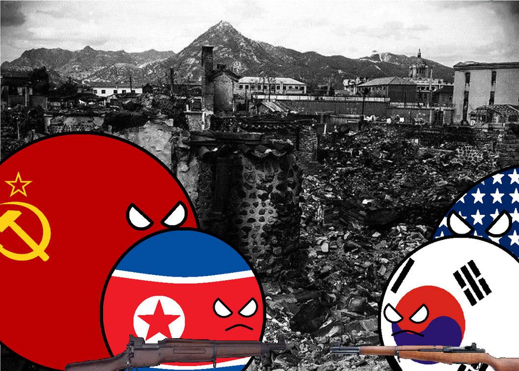 Korean War countryballs