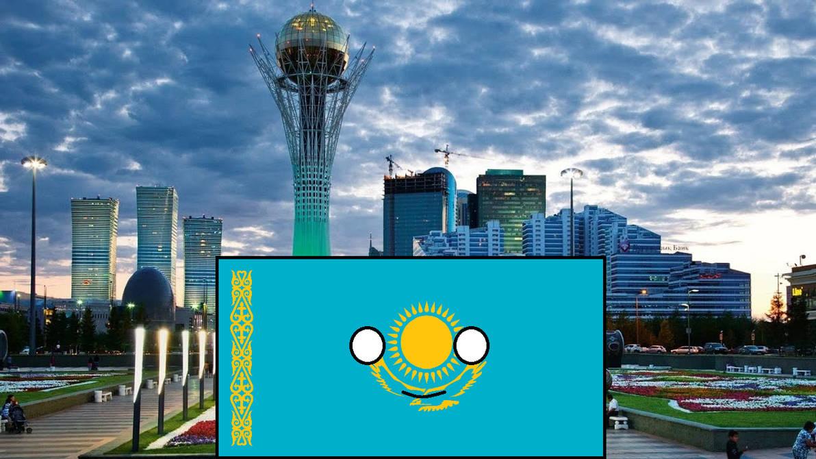 Kazakhstan countryballs