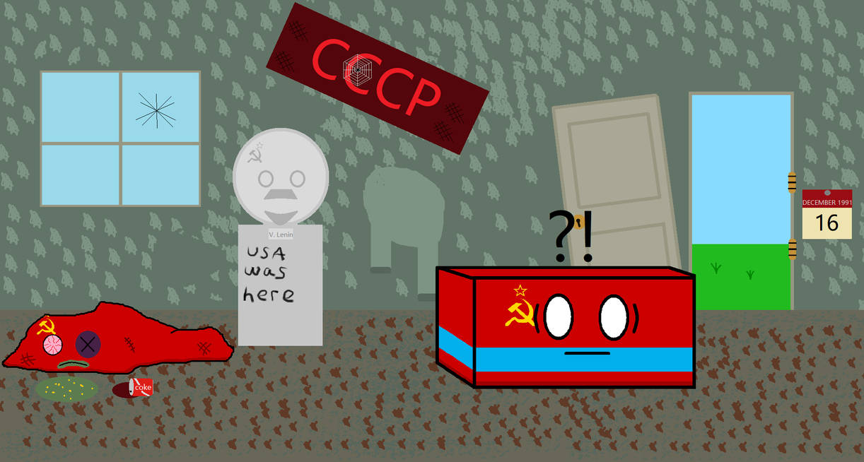 Kazakhstan last to leave the USSR Countryballs
