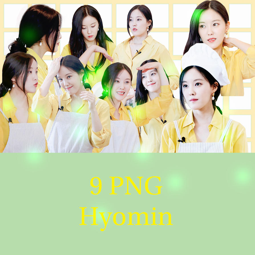 9 PNG Hyomin by conbovancute
