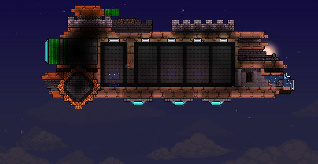 Glitch Starbound Terraria Starbound Glitch Ship