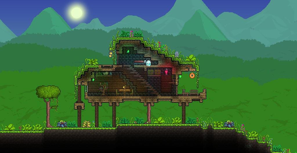 Terraria Jungle Hut 2 By XploSlime7 On DeviantArt