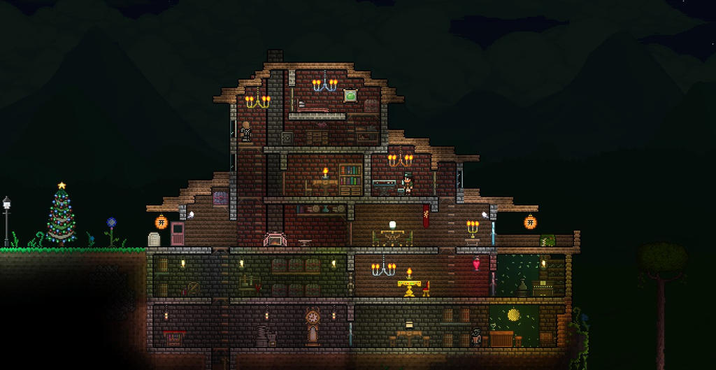 Terraria First House Remake By Xploslime7 On Deviantart