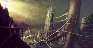 City Concept 2 by AbhinandanMadhu