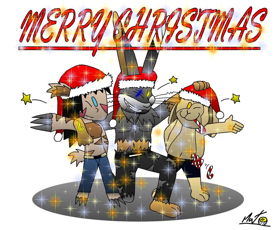 Pubg By Sodano On Deviantart: Bunny Christmas Z-parasites By Pouchnoubout On DeviantArt