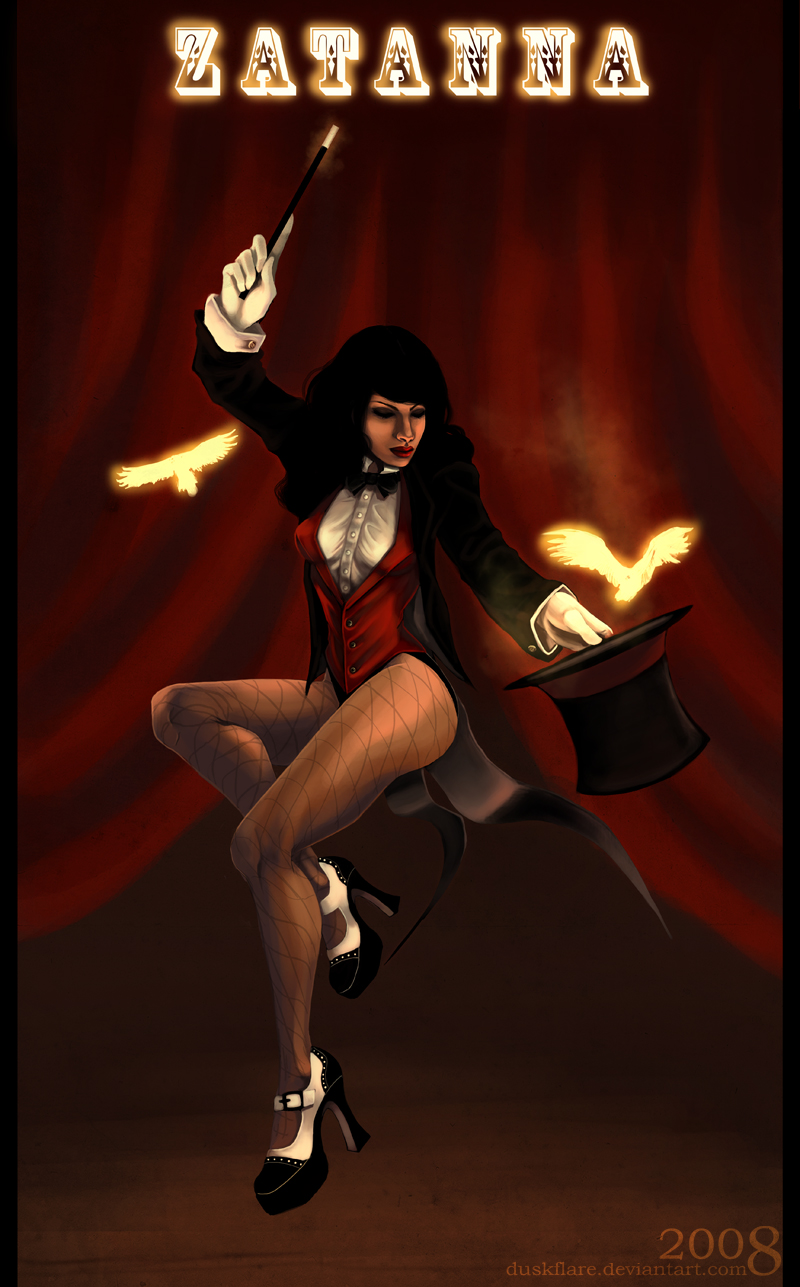 Zatanna Zatara from DC Comics 3 by Enolla on DeviantArt
