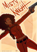Misty Knight by duskflare
