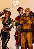 Secret Six by duskflare