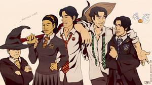 Hogwarts School For Batkids
