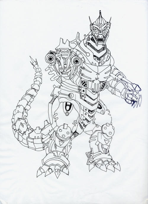 Godzilla Coloring Pages Titanosaurus