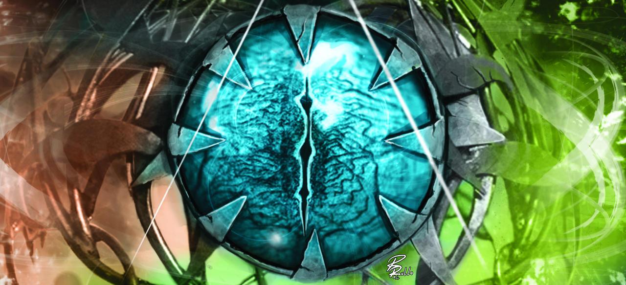 Fantasy-NPC logo by LJEKC
