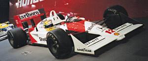 Ayrton Senna - McLaren Honda