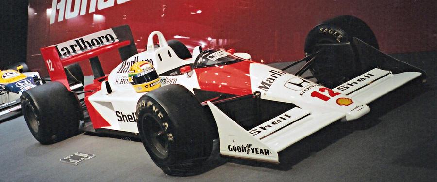 Ayrton Senna - McLaren Honda by tomasmanrique200