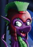 Spike new helmid