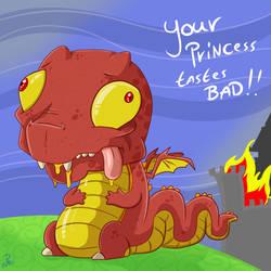 Tastes Bad by DinoDraketakethecake
