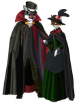 Count Dracwolf and Lady Sandra