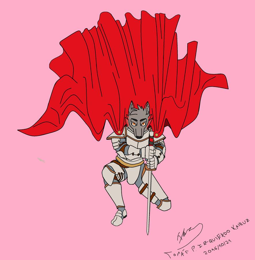 Ardor never gives up by argenholydrake
