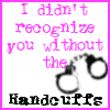 Handcuffs by xDoodlebugx
