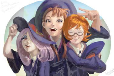 Little Witch Academia SpeedPaint by ammydalishawright