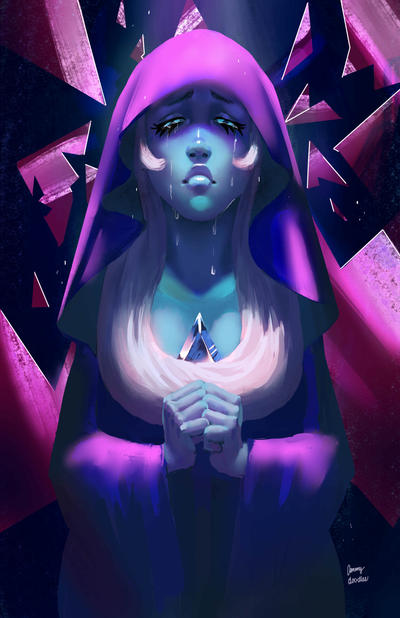 You can see a Blue Diamond Speedpainting Video I put up on YouTube right now!  The semester is over SO I'll have some free time to paint again. Funny thing is that I finally made my ...