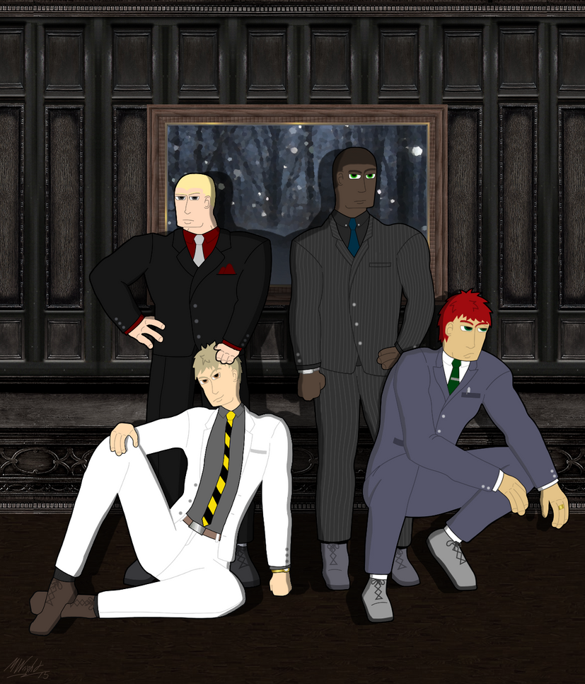Sharp-Dressed Men by TheInimitableECypher