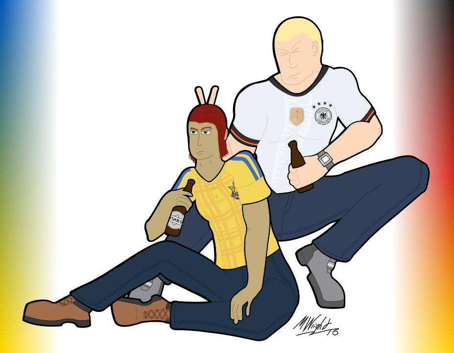 Euro Drinking Buddies by TheInimitableECypher