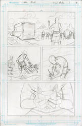 Captain Cushing #1 Page 18 Pencils