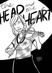 The Head and the Heart - Charity Rose Thielen by SKumpf