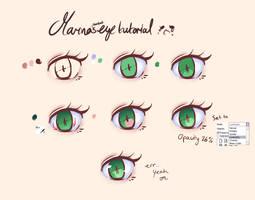 Marina's Eye Tutorial OTL by acsuu