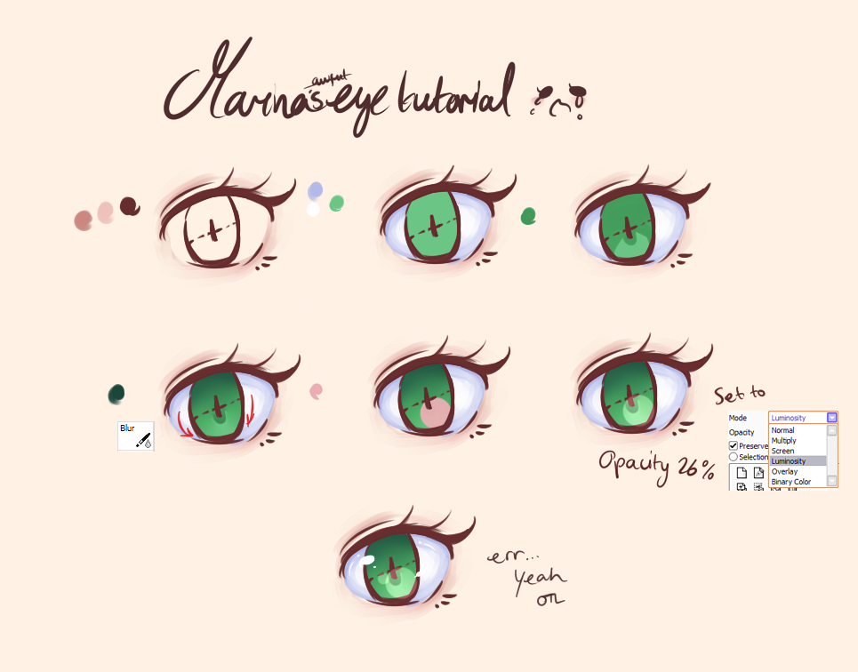 Marina's Eye Tutorial OTL by StarlessArisu