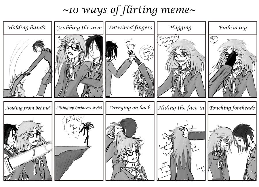 10 ways girls flirt