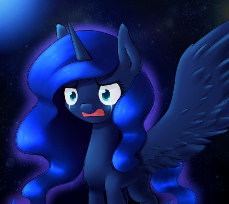 Anger, Fear, Regret, Sadness, Shame. Luna by Alexis25