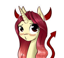 The most adorable of all devils by AviAlexis25